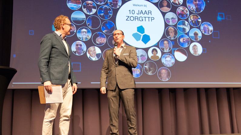 Jubileumcongres ZorgTTP blikt vooruit op toekomst data in de zorg